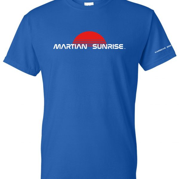 Martian Sunrise t-shirt